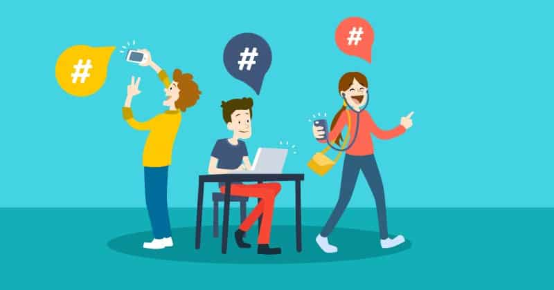 Errores que debes evitar al usar hashtag en redes sociales